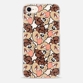 iPhone 8 Case Silly Taz All-Over Print