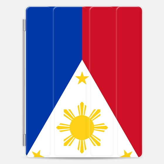 Casetify iPad Cover / Case - National flag of the Philipp...