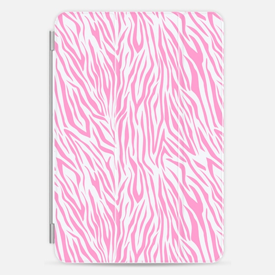 Casetify iPad Cover / Case - Girly pink white hipster vec...