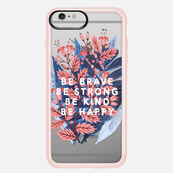 Casetify iPhone 7 Plus/7/6 Plus/6/5/5s/5c Case - Be Brave...