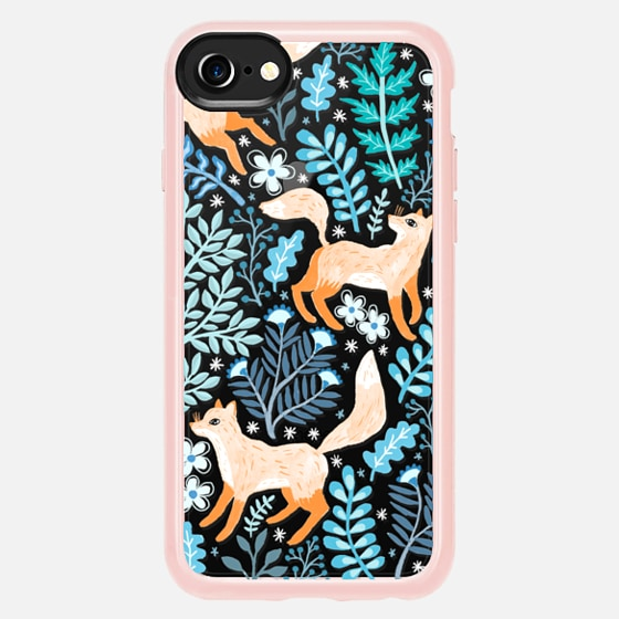 Casetify iPhone 7 Plus/7/6 Plus/6/5/5s/5c Case - Foxes in...