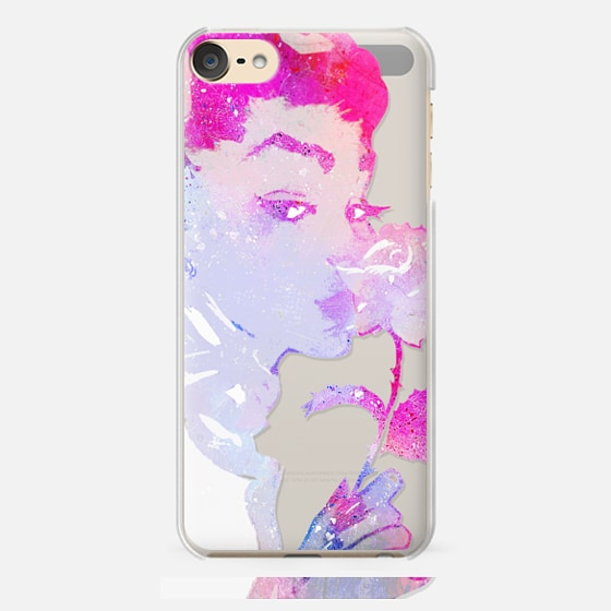 iPhone 7 Plus/7/6 Plus/6/5/5s/5c Case - Pink painted woma...