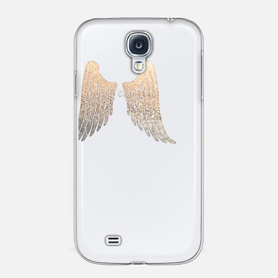 苹果5st版_apple wings faux glitter by monika strigel iphone