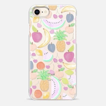 iPhone 8 Case Fruit Punch Light - Transparent