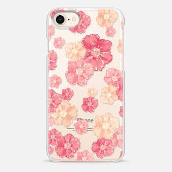 iPhone 8 Case Blossoms - Transparent/Clear background