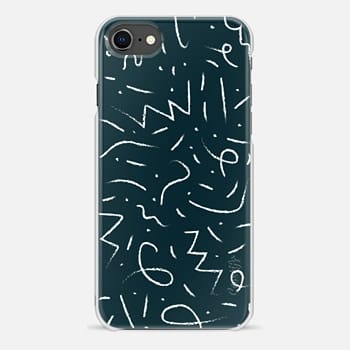 iPhone 8 Case Scribbles