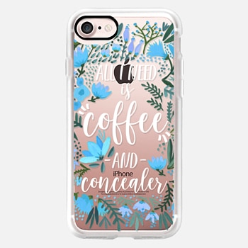 iPhone 7 Case Coffee & Concealer by CatCoq