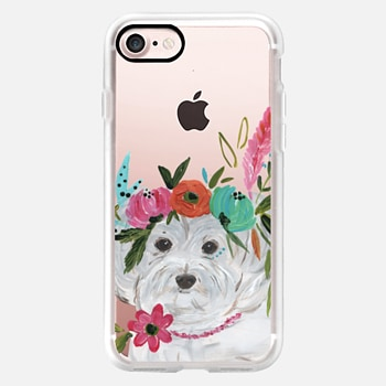 iPhone 7 Case Boho Maltipoo by Bari J. Designs