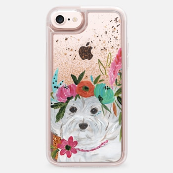 iPhone 7  Boho Maltipoo by Bari J. Designs
