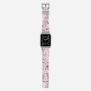 Apple Watch Band (42mm)  Berry Frosting Art Deco Pattern band