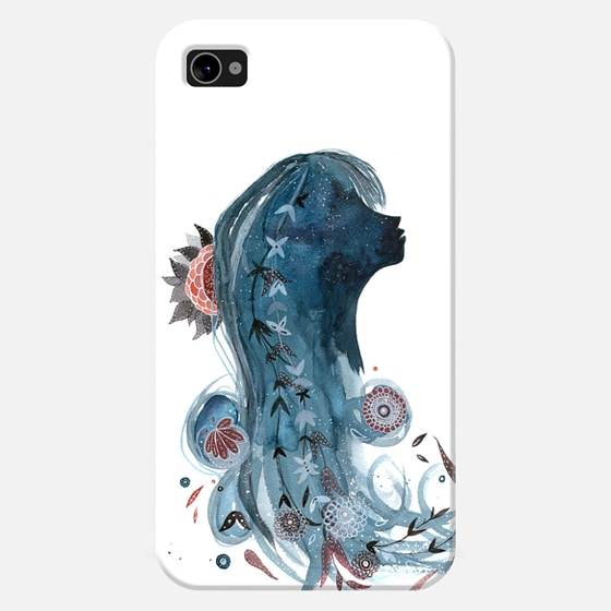 @casetify sets your Instagrams free! Get your customize Instagram phone case at casetify.com! #CustomCase Custom Phone Case | Casetify | Portrait | Painting  | meera lee