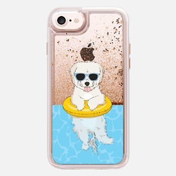 iPhone 7  Elvis the Swimming Maltipoo
