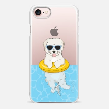 iPhone 7 Case Elvis the Swimming Maltipoo