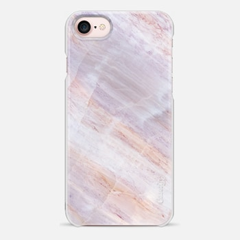 iPhone 7 Case Charoite Purple Marble Stone