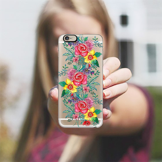 @casetify sets your Instagrams free! Get your customize Instagram phone case at casetify.com! #CustomCase Custom Phone Case | Casetify | Painting | Transparent  | Yaz Raja Designs