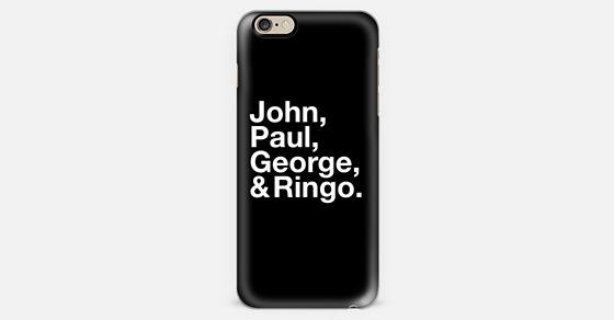 john paul george ringo iphone 6 case by fakekatemoss casetify. Black Bedroom Furniture Sets. Home Design Ideas