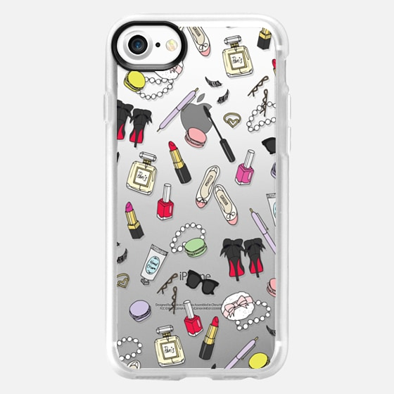 Girly Things Clear - Classic Grip Case