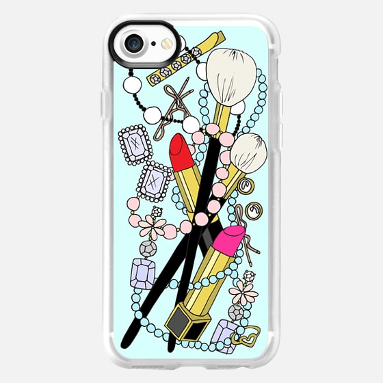 All of the Pretty Things Blue - Snap Case
