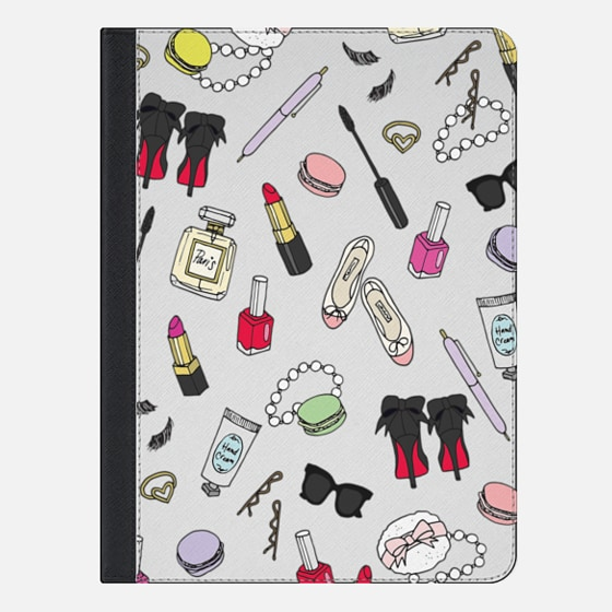 Girly Things - iPad Folio Case
