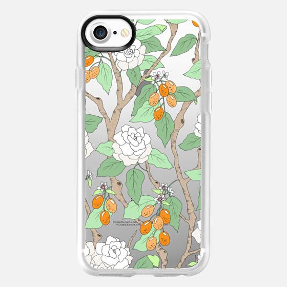 Gardenias and Kumquats - Wallet Case