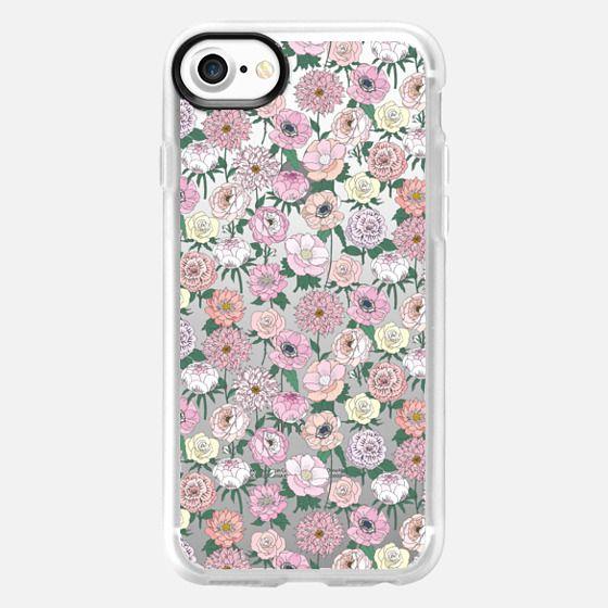 Mini Floral - Snap Case