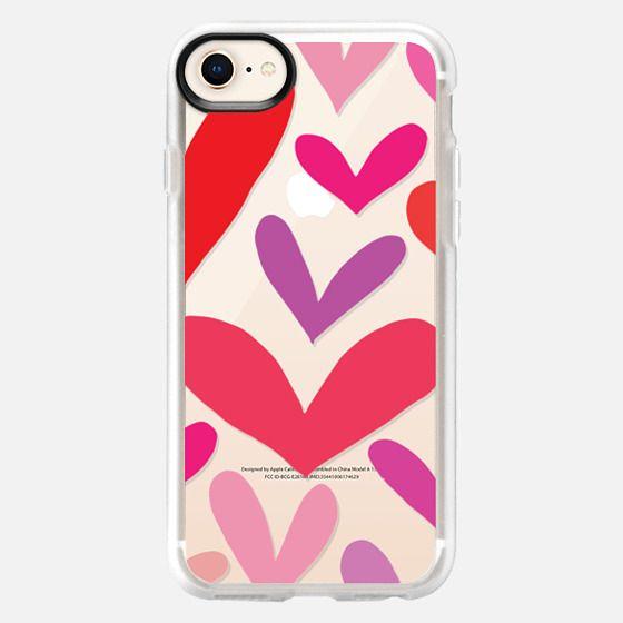 Hearts - Snap Case