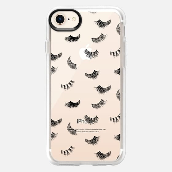 Black Eyelashes - Snap Case