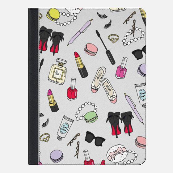 Girly Things - iPad Folio Case
