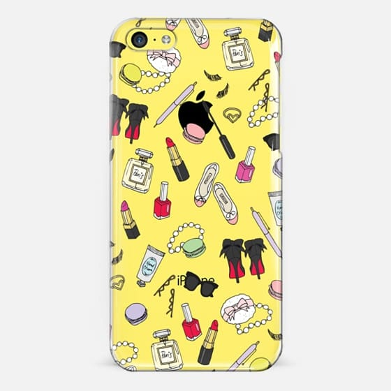 Girly Things Clear - Classic Snap Case