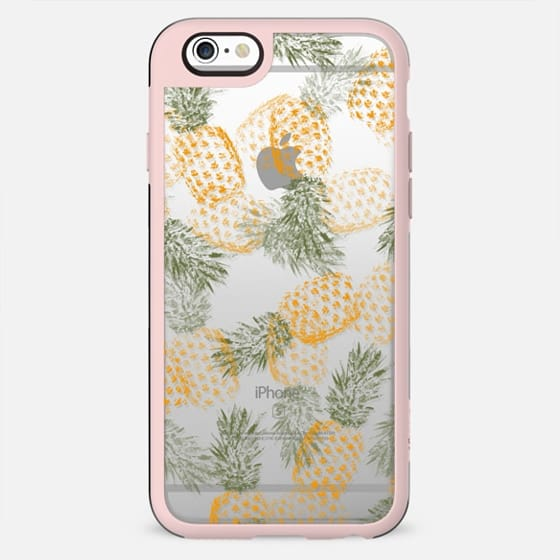 Pineapple Mess Clear Case - New Standard Case