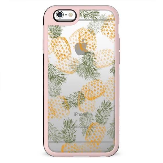Pineapple Mess Clear Case