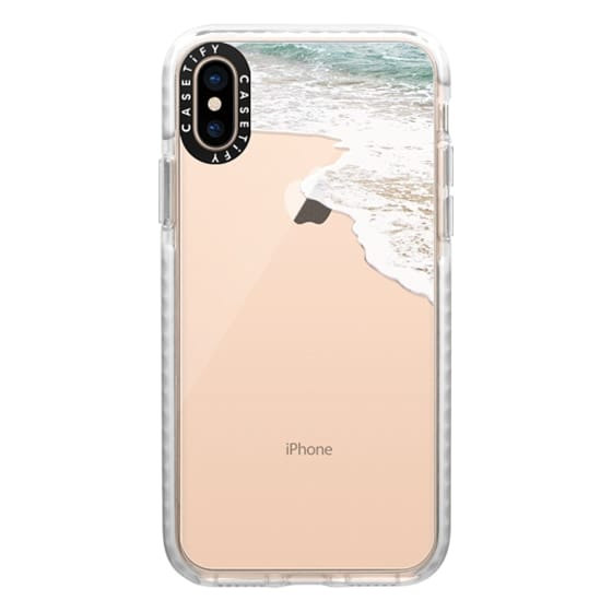 iPhone XS Cases - Sea water clear case