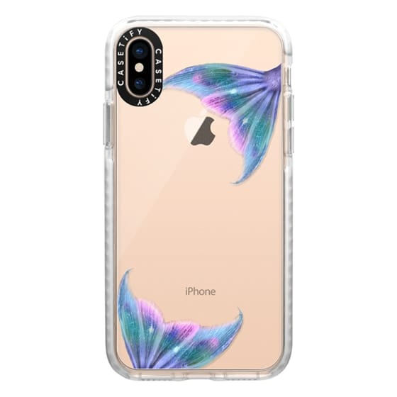 iPhone XS Cases - Mermaids clear case