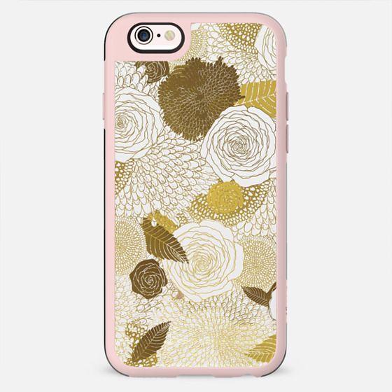 golden winter flowers - New Standard Case