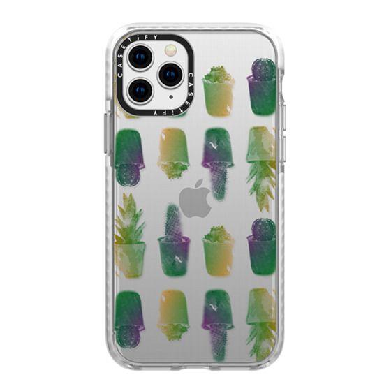 iPhone 11 Pro Cases - tropical cactus tr