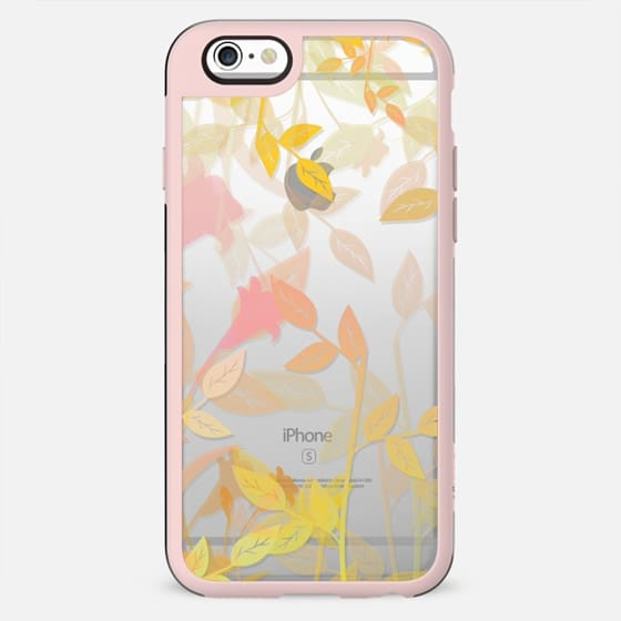 Nature Leaves Clear Case
