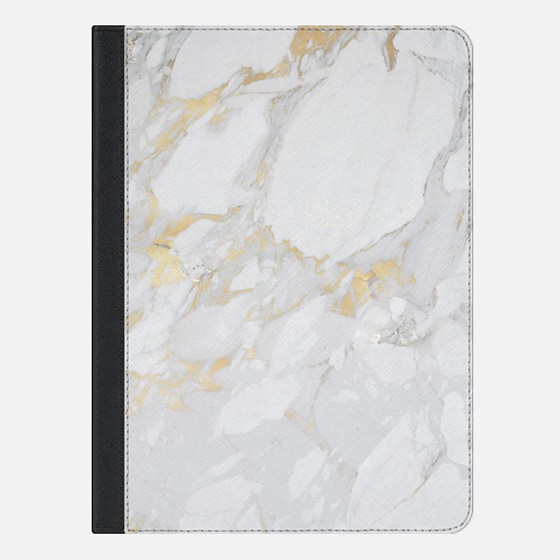 iPad Air 2 Case - Marble with gold