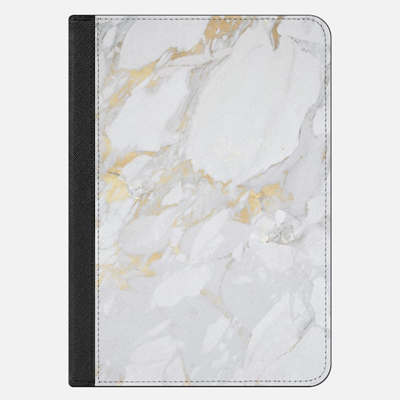iPad Mini 4 Case - Marble with gold