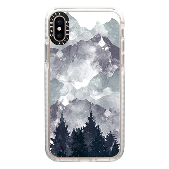 iPhone XS Cases - winter tale