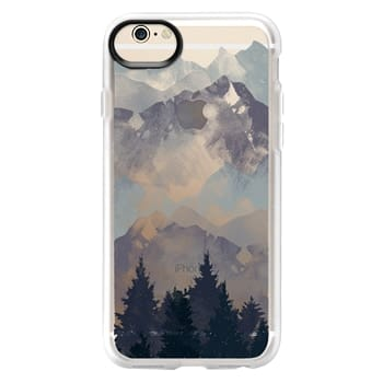 Grip iPhone 6 Case - Winter Tale Clear Case