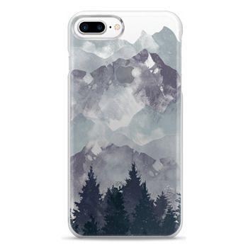 Snap iPhone 7 Plus Case - Winter Tale Clear Case