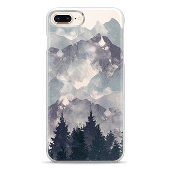 Snap iPhone 8 Plus Case - Winter Tale Clear Case