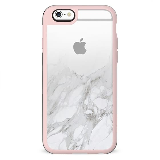 Marble Fade Clear Case