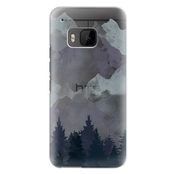 Htc One M9 Cases - Winter Tale Clear Case