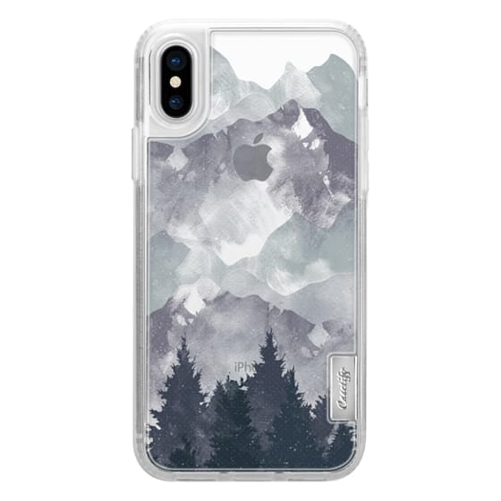iPhone X Cases - Winter Tale Clear Case