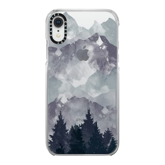 iPhone XR Cases - Winter Tale Clear Case