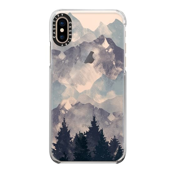 iPhone XS Cases - Winter Tale Clear Case