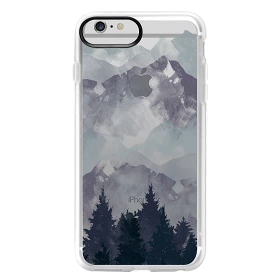 iPhone 6 Plus Cases - Winter Tale Clear Case