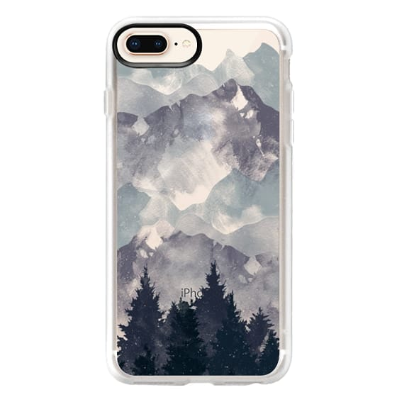 iPhone 8 Plus Cases - Winter Tale Clear Case