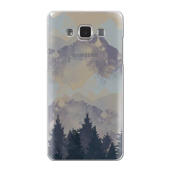 Samsung Galaxy A5 Cases - Winter Tale Clear Case
